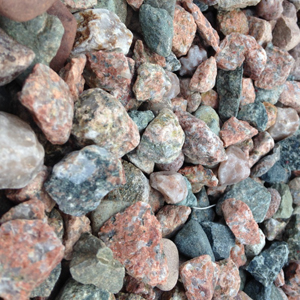 Connemara Pink Granite Flowerbed Gravel