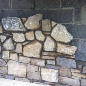 Old White Galway Limestone Building Stone Random Rubble