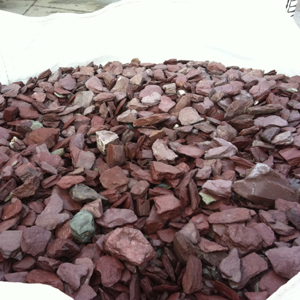 Purple Plum Slate Flowerbed Mulch 1.5